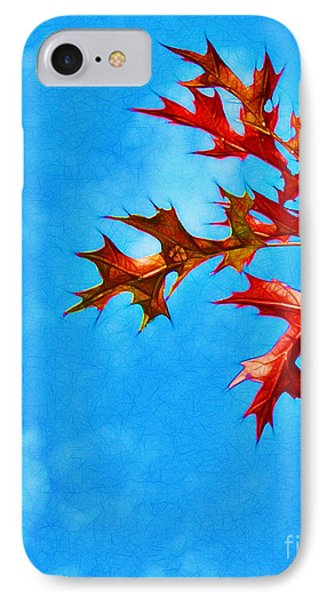 Leaves Against The Sky Phone Case by Judi Bagwell