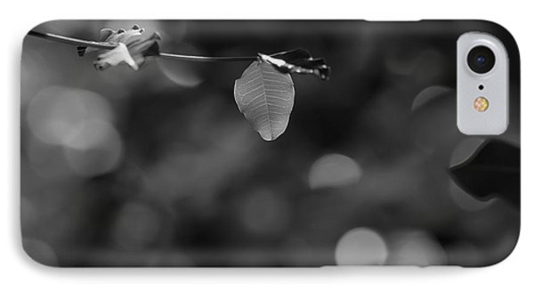 Leaves And Light IPhone Case by Dariusz Gudowicz