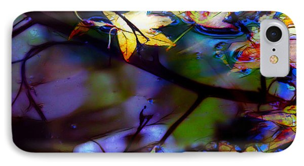 Leaves And Reflections Phone Case by Judi Bagwell