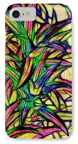 Leaves Of Imagination Phone Case by Judi Bagwell