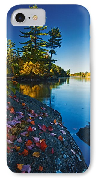 Leaves On Rock, Killarney Provincial IPhone Case