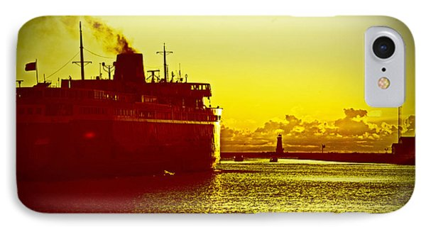 IPhone Case featuring the photograph Leaving Port by Randall  Cogle