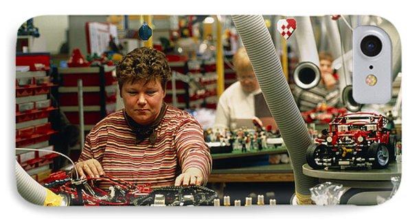 Lego Construction Phone Case by Volker Steger