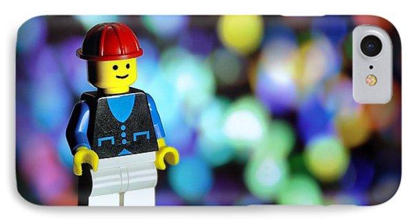 Legoman IPhone Case by Mark Fuller