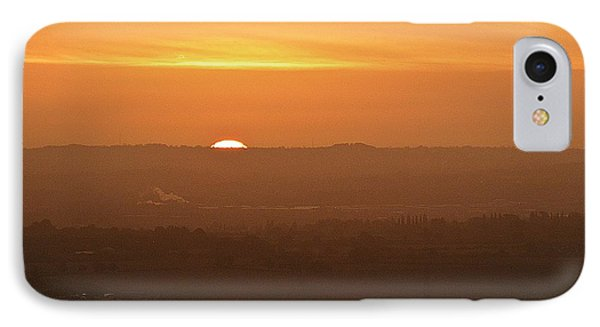 Leicestershire Sunrise IPhone Case by Linsey Williams
