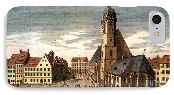 Leipzig: St. Thomas Church Phone Case by Granger