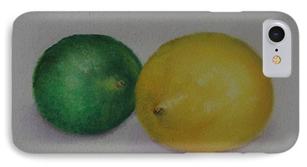 Lemon And Lime Phone Case by Loueen Morrison