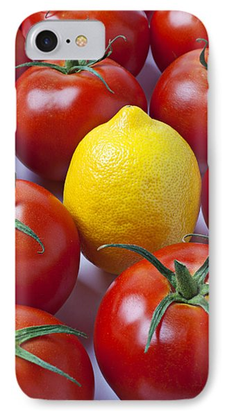 Lemon And Tomatoes Phone Case by Garry Gay