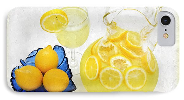 Lemonade And Summertime Phone Case by Andee Design