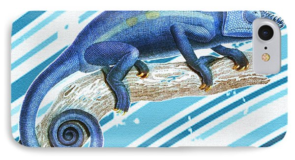Leo Loves Lizards IPhone Case by Nikki Marie Smith