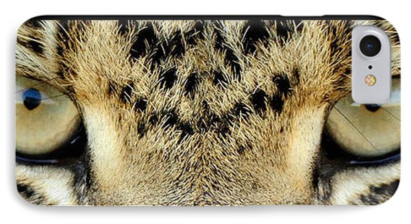Leopard Eyes Phone Case by Sumit Mehndiratta