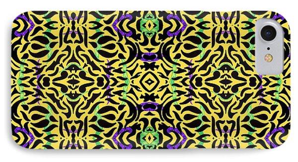 Leopard Print Art IPhone Case by Sumit Mehndiratta