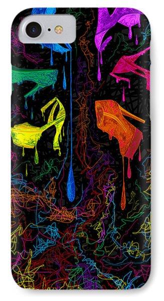 Les Couleur Des Chaussures Numero 1 Phone Case by Kenal Louis