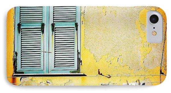 Let It All Hang Out #italy #wall IPhone Case by A Rey