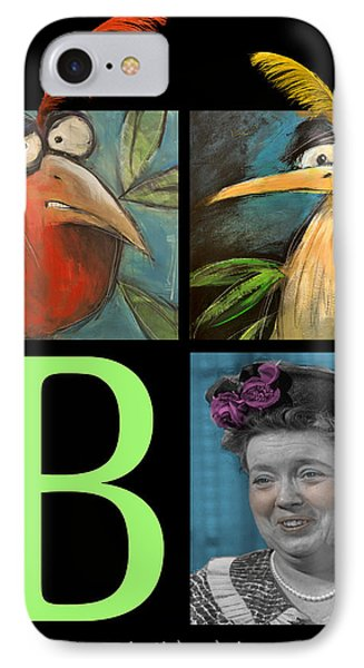 Let Me Tell You Bout The Birds And Phone Case by Tim Nyberg