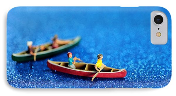 Let's Boating Together Phone Case by Paul Ge