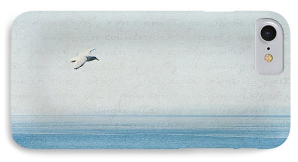IPhone Case featuring the photograph Letters From The Sky by Lisa Parrish