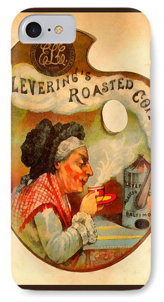 Levering's Roasted Coffee Phone Case by Anne Kitzman