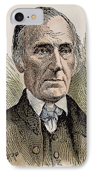 Levi Coffin (1798-1877) IPhone Case by Granger