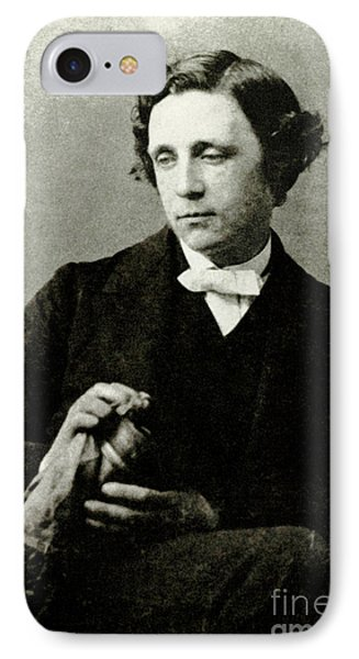 Lewis Carroll, English Author Phone Case by Photo Researchers