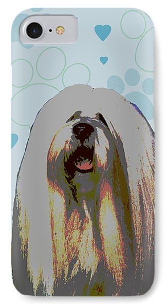 Lhasa Apso Phone Case by One Rude Dawg Orcutt