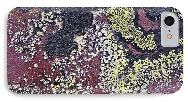 Lichen Pattern Series - 25 Phone Case by Heiko Koehrer-Wagner