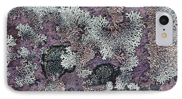 Lichen Pattern Series - 57 Phone Case by Heiko Koehrer-Wagner
