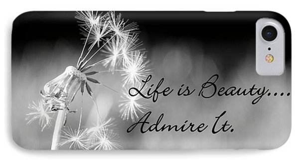 IPhone Case featuring the photograph Life Is Beauty by Laurinda Bowling