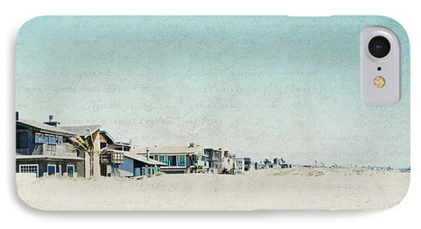 IPhone Case featuring the photograph Letters From The Beach House - Square by Lisa Parrish
