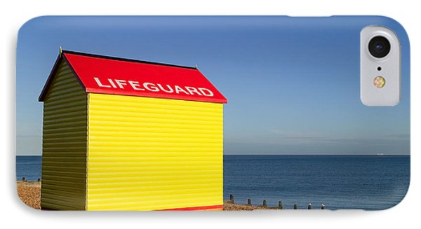 Lifeguard Hut Phone Case by Richard Thomas