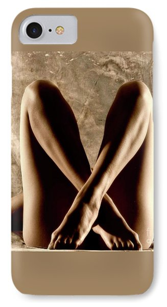 IPhone Case featuring the photograph Light And Shadow by Angelique Olin