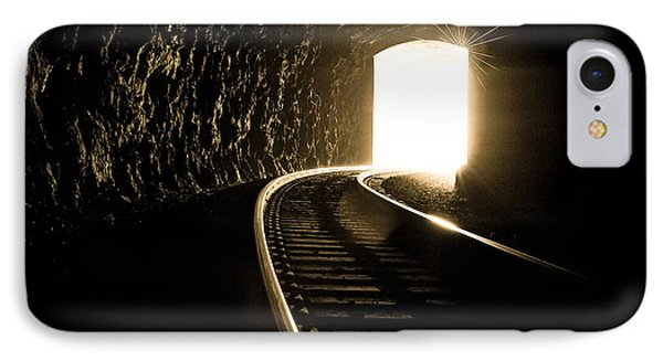 Light At The End Of The Tunnel Phone Case by Joye Ardyn Durham