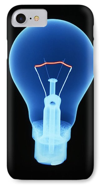 Light Bulb IPhone Case by D. Roberts