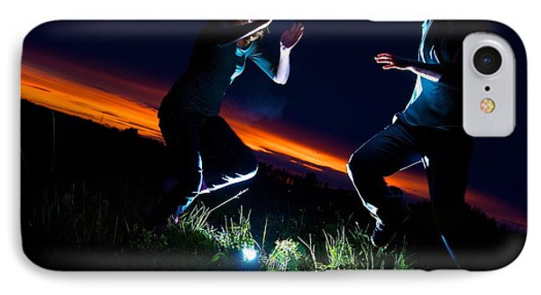 Light Dancers 1 IPhone Case by JM Photography