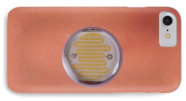 Light Dependent Resistor Phone Case by Andrew Lambert Photography