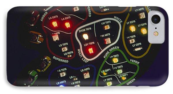 Light-emitting Diodes Phone Case by Volker Stegersiemens