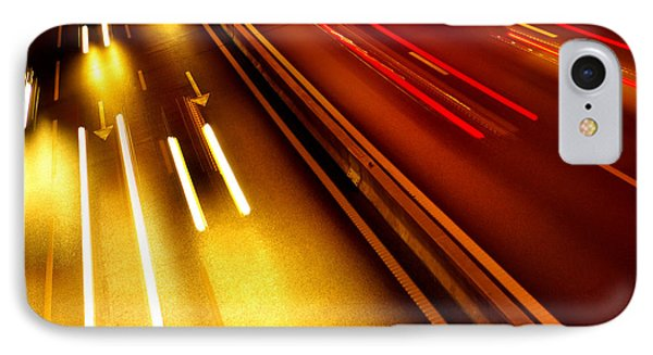 Light Trails IPhone Case by Carlos Caetano