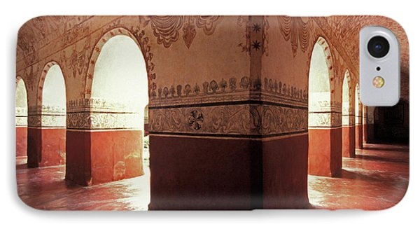 IPhone Case featuring the photograph Light Under The Arches Tepoztlan Mexico by John  Mitchell