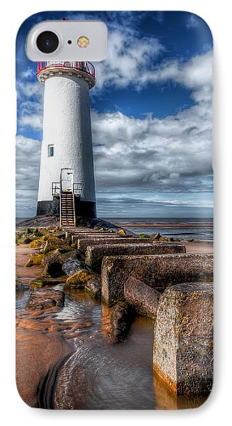 Lighthouse Entrance Phone Case by Adrian Evans