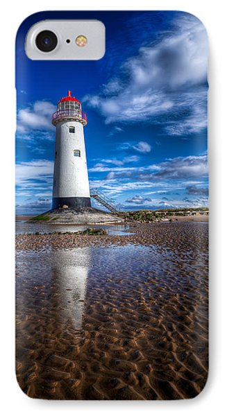 Lighthouse Reflections IPhone Case by Adrian Evans
