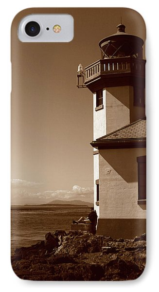 IPhone Case featuring the photograph Lighthouse San Juan by Lorraine Devon Wilke