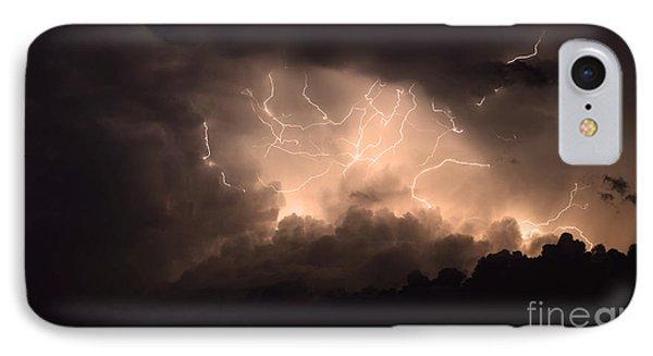 Lightning Phone Case by Bob Christopher