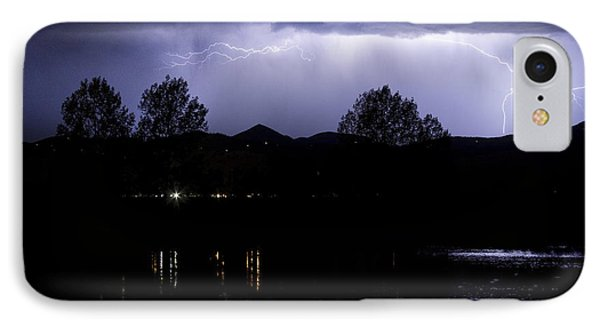 Lightning Over Coot Lake Phone Case by James BO  Insogna