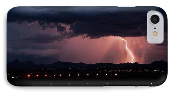 Lightning Strike Phone Case by Eddie Yerkish