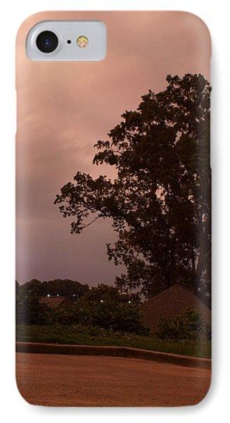 Lightning Strike In Mississippi Phone Case by Joshua House