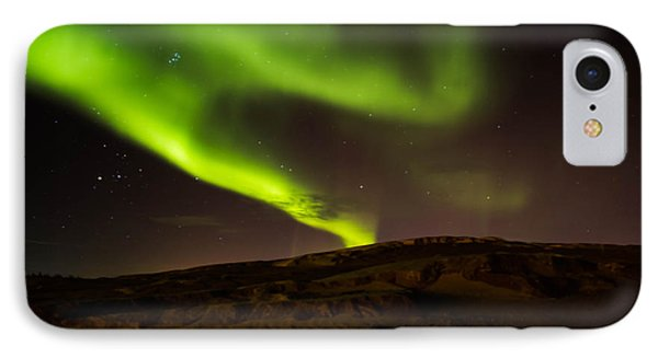 Lights Over The Desert Phone Case by Darren Langlois
