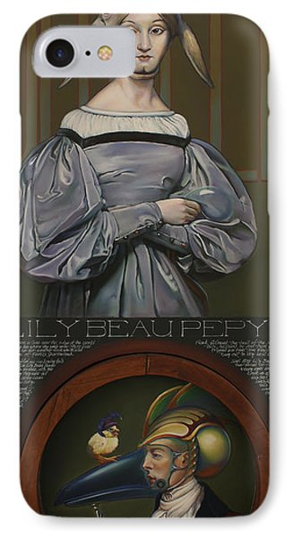 Lily Beau Pepys IPhone Case by Patrick Anthony Pierson