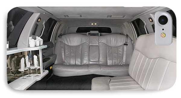 Limousine Interior Phone Case by Andersen Ross