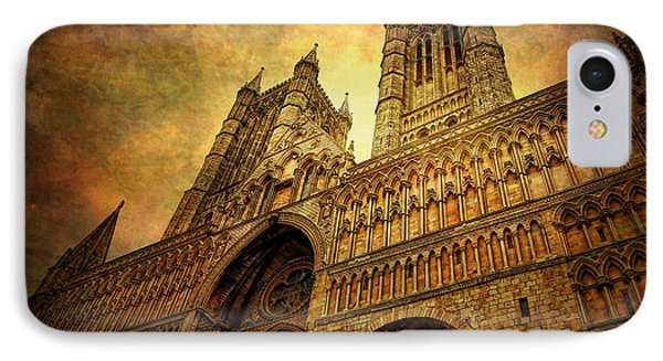 Lincoln Cathedral Phone Case by Yhun Suarez