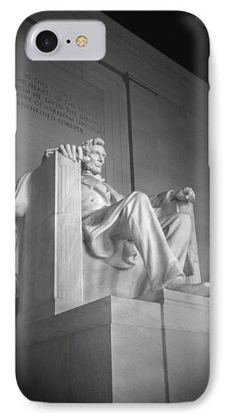 Lincoln Memorial  IPhone Case by Mike McGlothlen